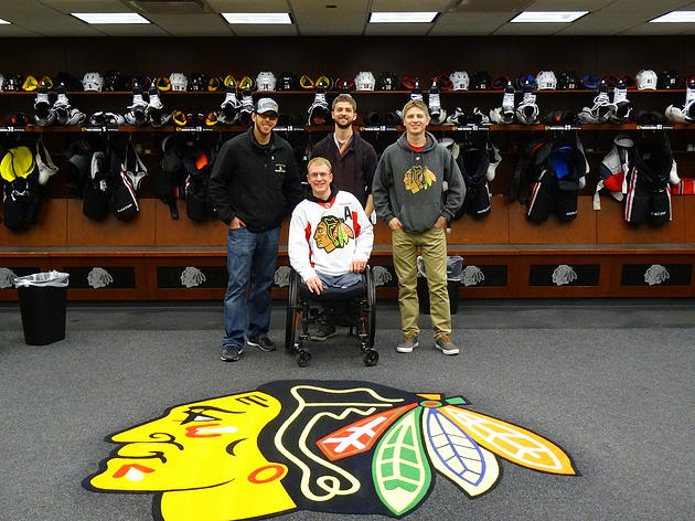 Toews & The Blackhawks Help Make Warrior Wishes Come True!