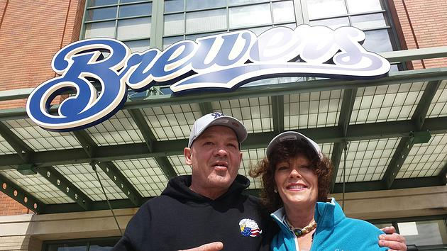 Honoring Navy Veterans at Opening Day in Milwaukee!