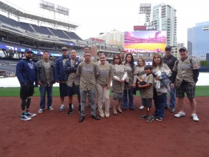 Rain Rain Go Away, The San Diego Padres Made Warrior Wishes Come True Today!