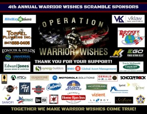 4th Annual Warrior Wishes Scramble Sponsors