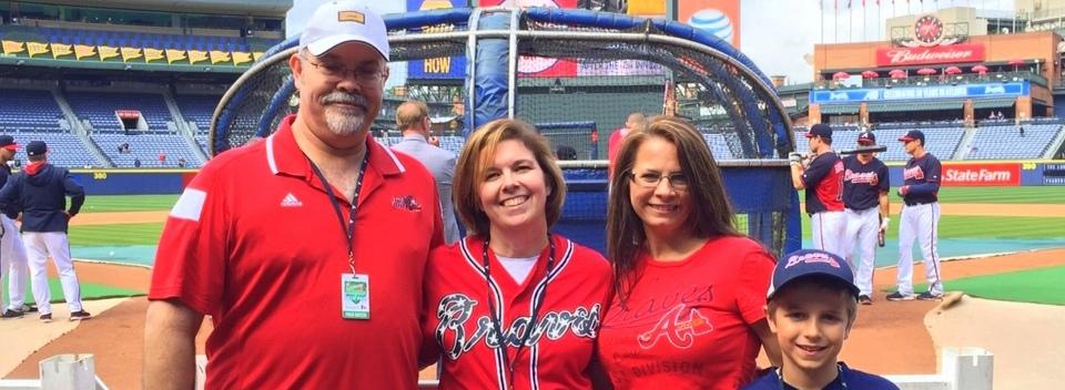 The Atlanta Braves Make Warrior Wishes Come True!