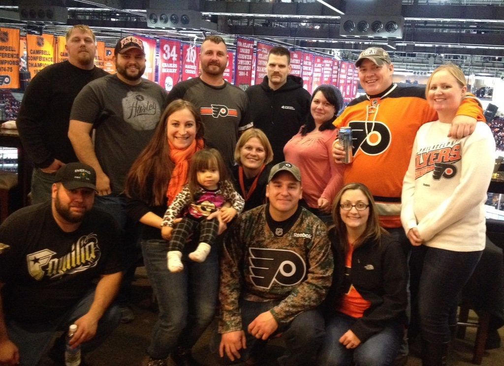 Warrior Wishes Come True Thanks To The Flyers!