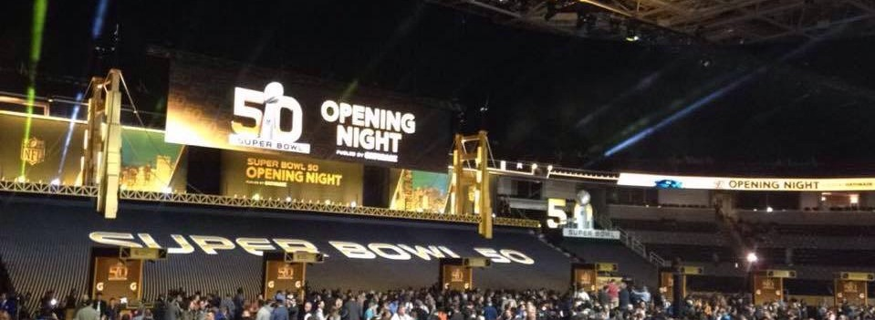 Warrior Wishes Come True At Superbowl 50 Opening Night!