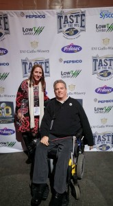 Taste of the NFL 2016 Ken Pollock Rebecca Sherman
