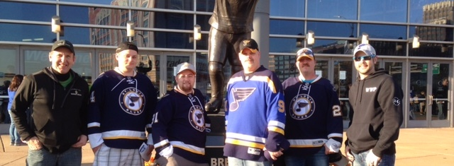 Warrior Wishes Come True Thanks To The St. Louis Blues!