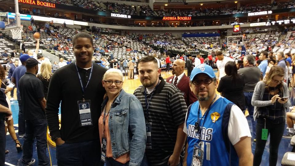 Warrior Wishes Come True Thanks To The Dallas Mavericks!