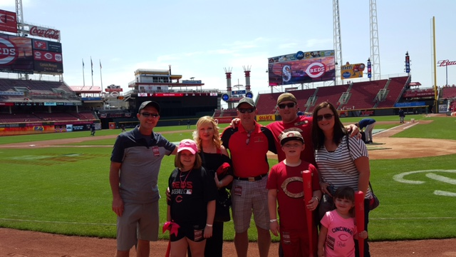 "The Cincinnati Reds Roll Out The ""Reds"" Carpet"