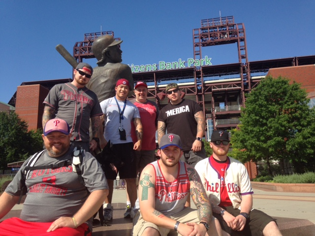 The Phillies Make Warrior Wishes Come True!