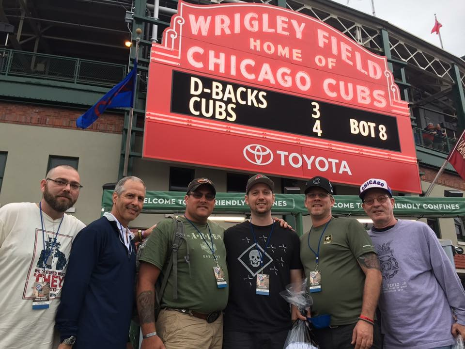 "Our ""PALS"" Make Warrior Wishes Come True At Wrigley Field!"