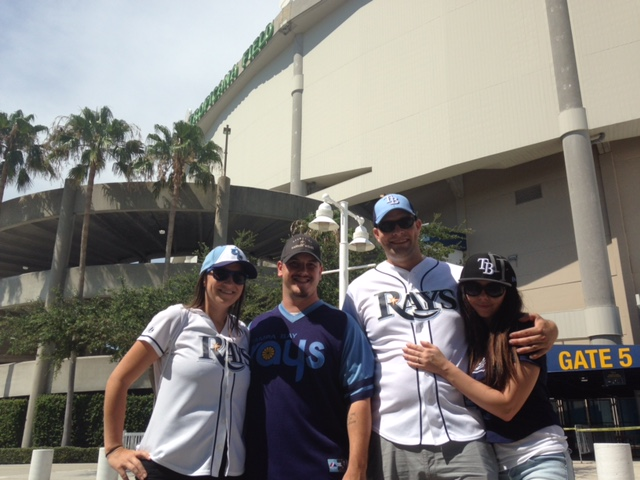 The Rays Make Warrior Wishes Come True Again!!!