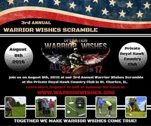 3rd ANNUAL WARRIOR WISHES SCRAMBLE