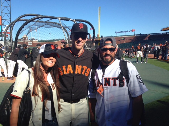The San Francisco Giants Make Warrior Wishes Come True!