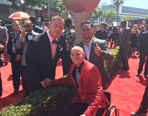 Warrior Wishes Come True At The Espys!