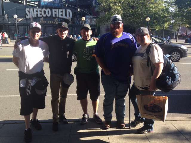The Seattle Mariners make Warrior Wishes Come True!