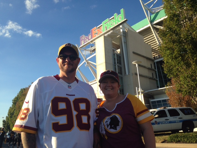 Game 3 – Making Warrior Wishes Come True At The Redskins Game!