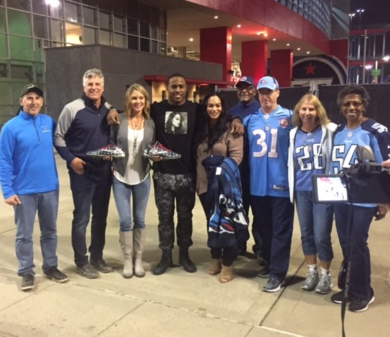 Game 21 – Titans LB Avery Williamson Makes Warrior Wishes Come True!