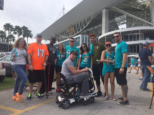 Game 25 – The Miami Dolphins Make Warrior Wishes Come True!
