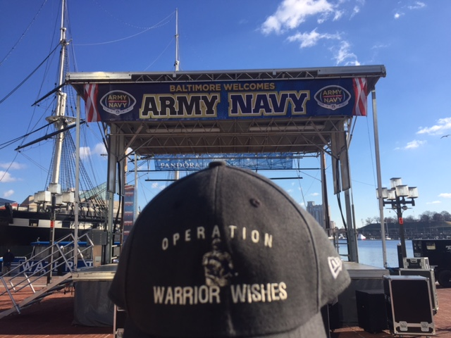 Sanofi Makes Warrior Wishes Come True At The 2016 Army Navy Game!