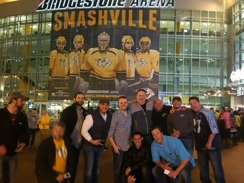 Vaco Makes Warrior Wishes Come True At The Predators Game!