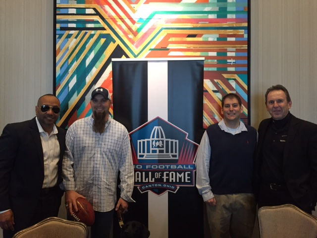 The NFL Hall of Fame Makes Wishes Come True At Their Annual Superbowl Luncheon