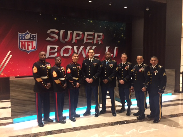 Warrior Wishes Come True At The Annual Superbowl Breakfast!