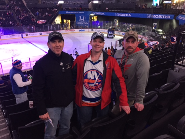 The NY Islanders Make Warrior Wishes Come True!