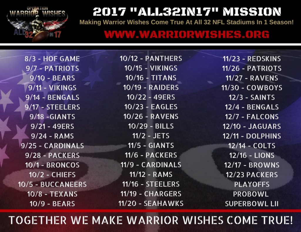 2017 All32in17 Mission Schedule (2)