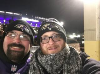 Game 50 – Warrior Wishes Come True At The Ravens Game!