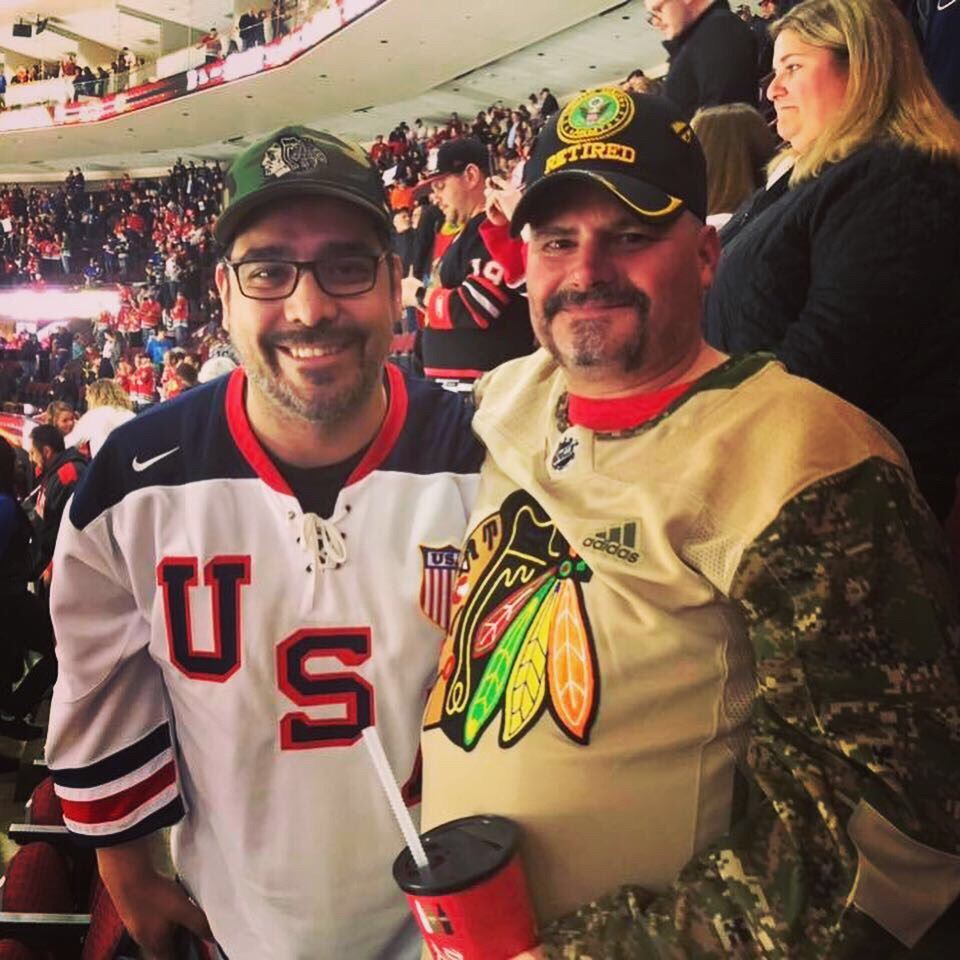 Warrior Wishes Come True at the Blackhawks Game!