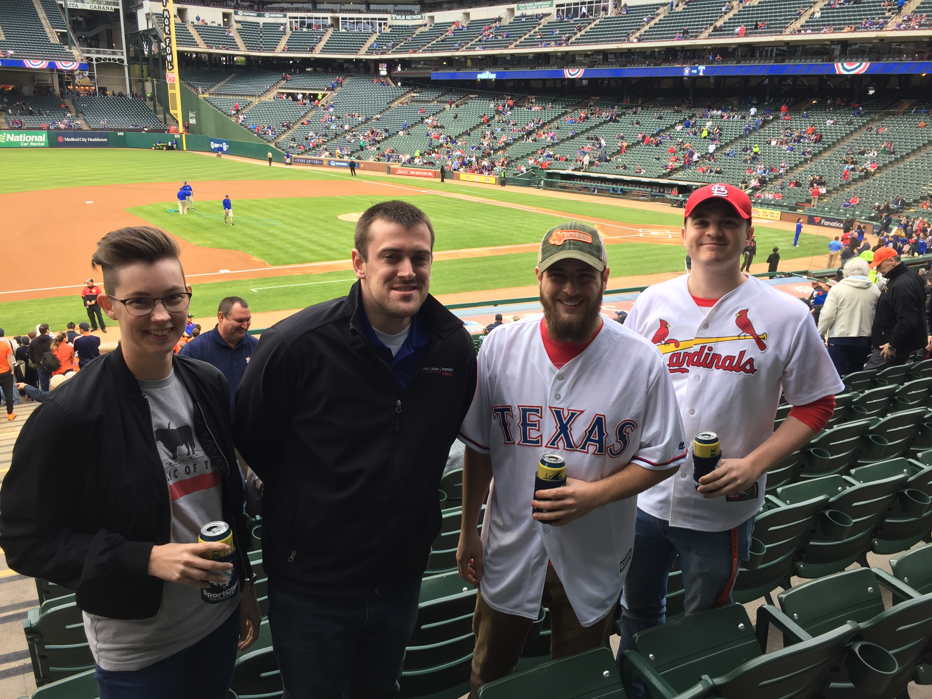 The Texas Rangers & Texas Lottery Make Warrior Wishes Come True!