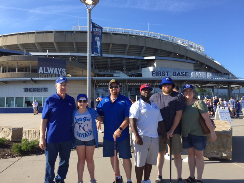 The Kansas City Royals Make Warrior Wishes Come True!