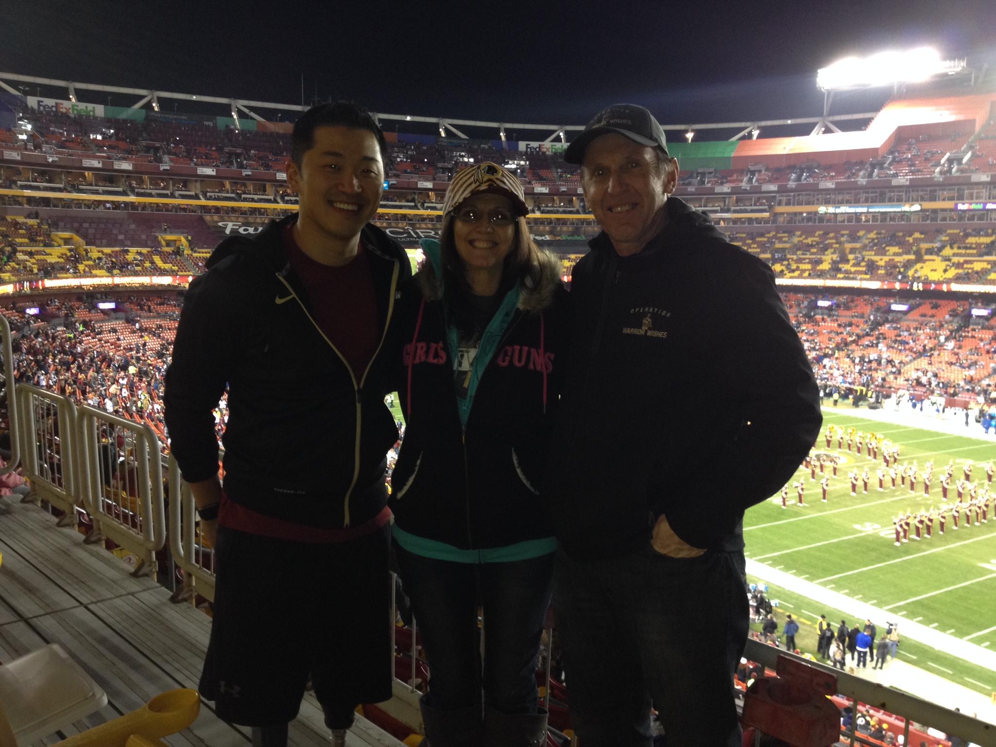 Game 35 – Warrior Wishes Come True In Washington DC!