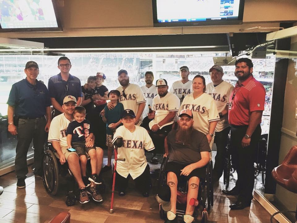 Globe Life Makes Warrior Wishes Come True in Texas!