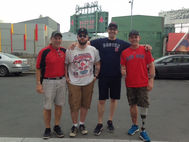 The Red Sox Make Warrior Wishes Come True!