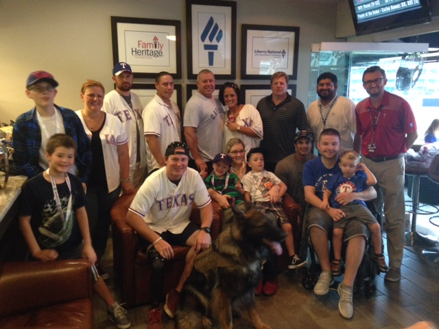 "Warrior Wishes Come True At The Rangers Game In A ""Suite"" Way!"