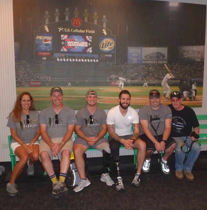 "Our ""PALS"" make Warrior Wishes Come True At The White Sox Game!"