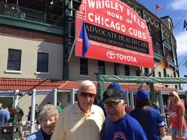 WWII Warrior Wishes Come True At Wrigley Field