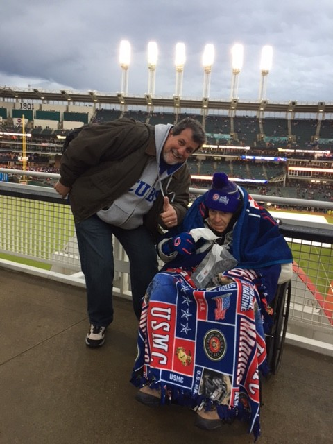 WWII Warrior Wishes Come True At The World Series!