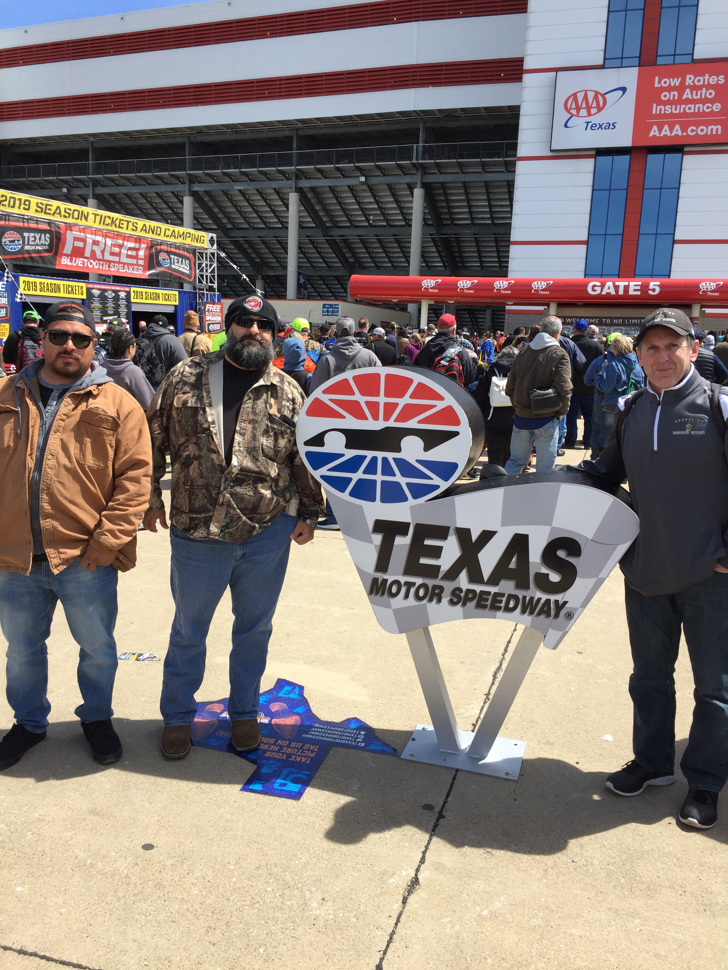 Warrior Wishes Come True at the O'Reilly Auto Parts 500!