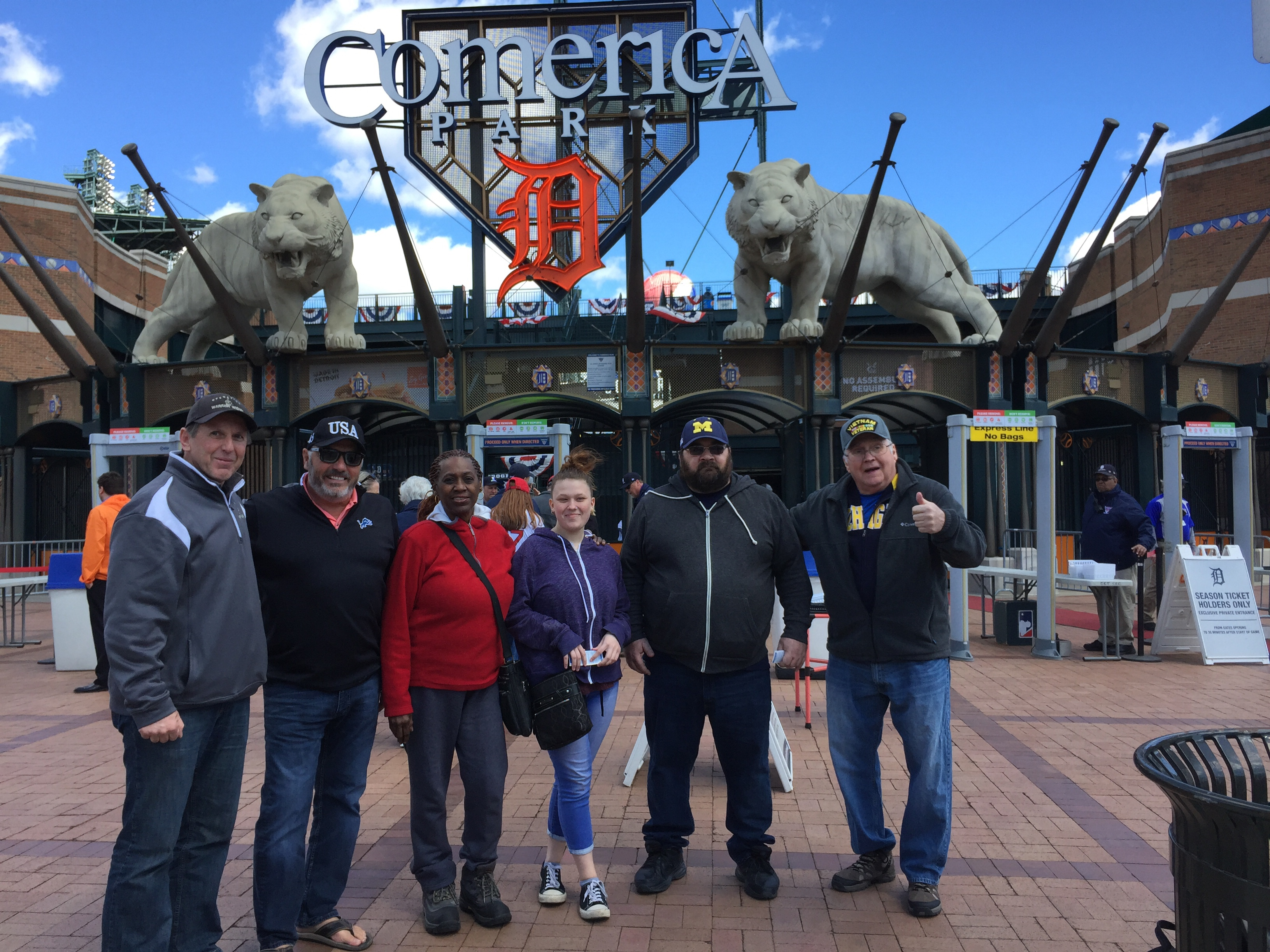 The Detroit Tigers Make Warrior Wishes Come True!