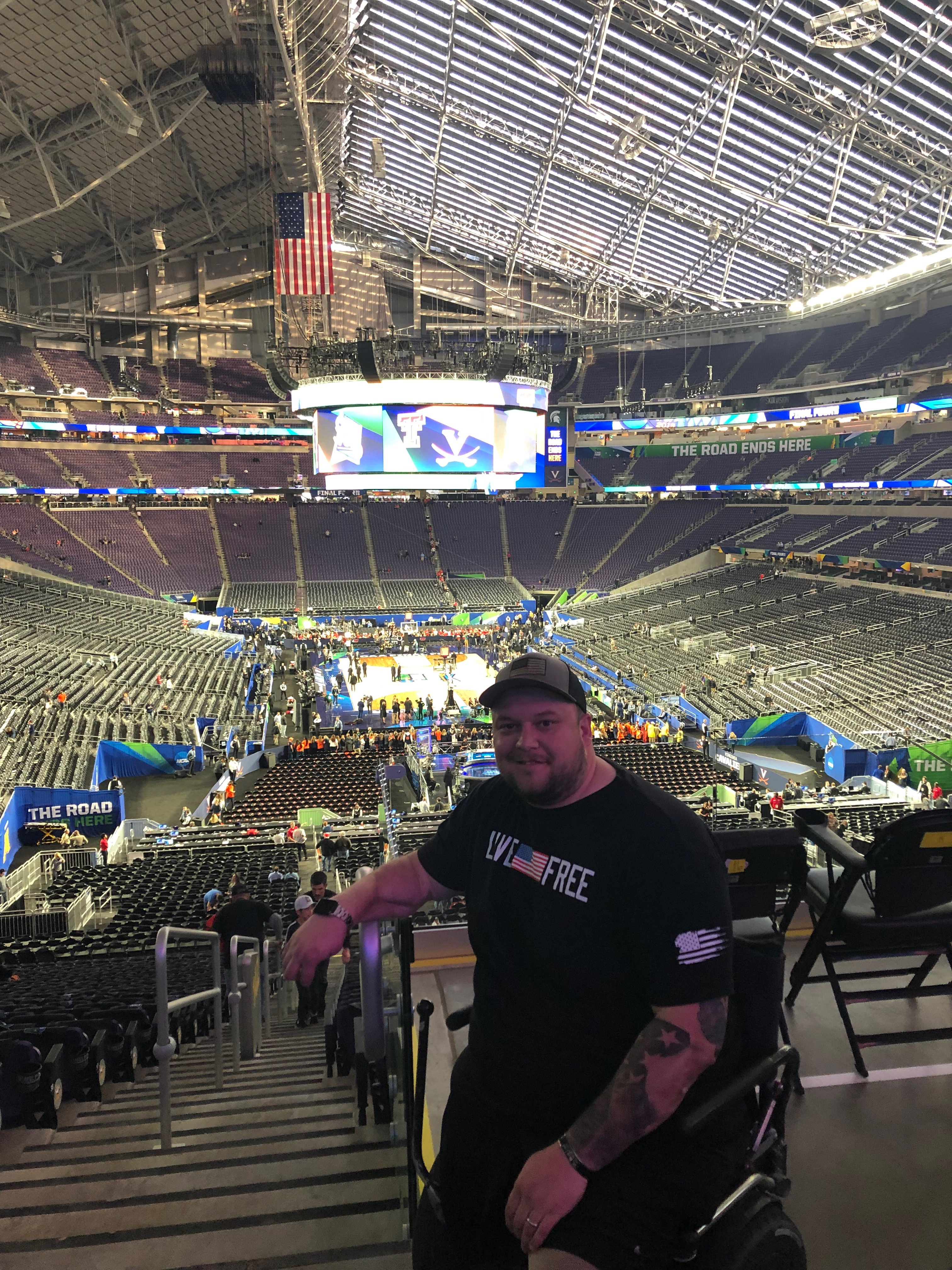 Warrior Wishes Come True at the Final Four Championship Game!