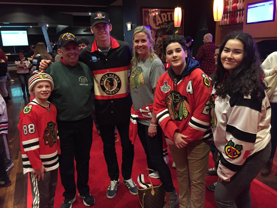 Making Warrior Wishes Come True At Blackhawks Charity Bowling Event