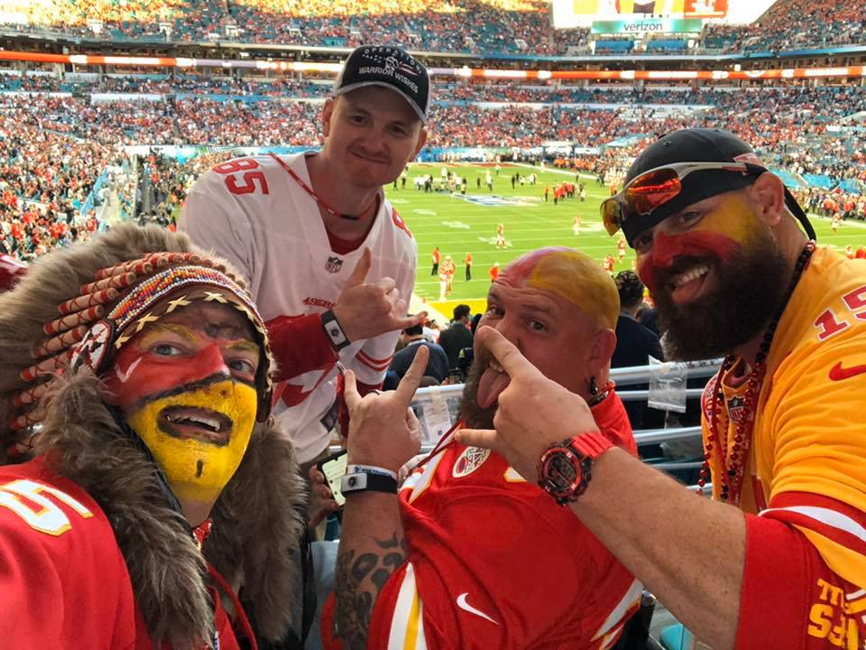 Game 73 – Warrior Wishes Come True at the Super Bowl!