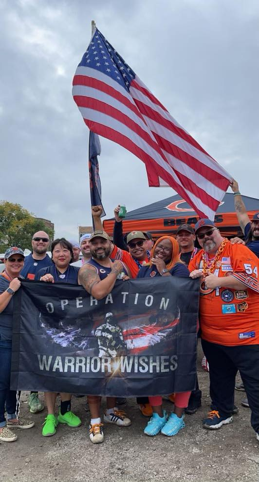 Hat Trick of wishes granted for Warriors at Chicago Bears, Dallas Cowboys and Los Angeles Rams